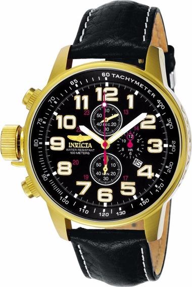 Relógio Invicta I-force - 3330 Couro - Frete Gratis