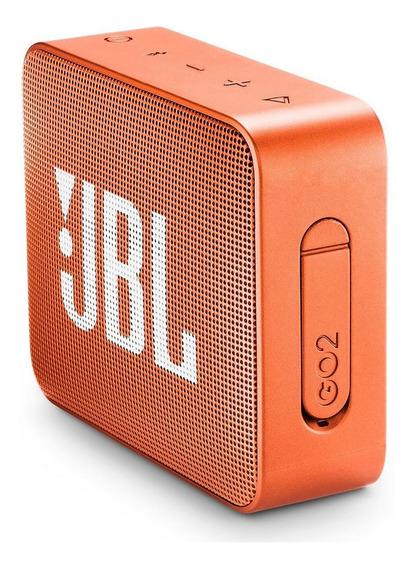 Jbl Go 2 Portatil Bluetooth Caixa Som Bateria 5hrs Rev Ofic