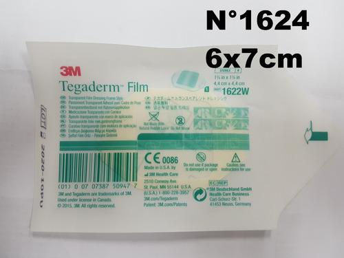 Imagen 1 de 5 de Tegaderm 6x7cm 1624w  - Parche Hipoalergenico