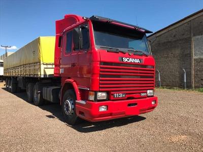 Scania 113 360 98 Com Carreta Unico Dono