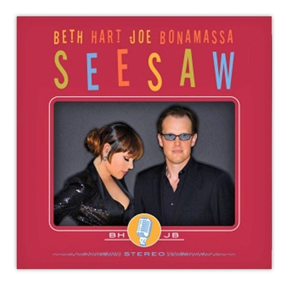 Joe Bonamassa & Beth Hart See Saw Cd Nuevo Original