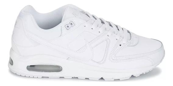 Tênis Nike Air Command Leather Triple White,pronta Entrega