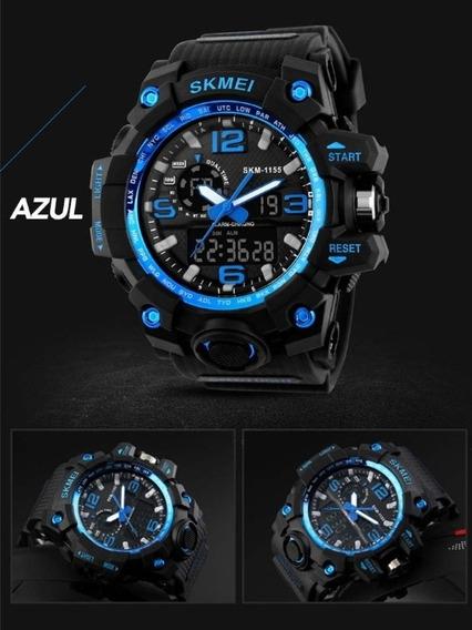 Relógio Skmei 1155 Esportivo Resistente A Água Até 50 Mt
