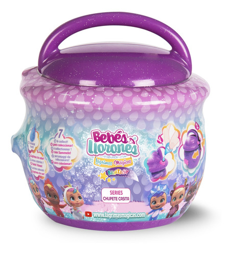 Bebés Llorones Lm Bottle House X 1 Cdu Surt. Imc Toys Hong K