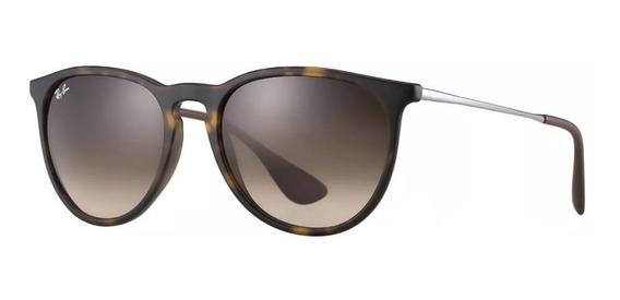 Óculos Sol Ray Ban Erika Rb 4171 Feminino Original Promoção