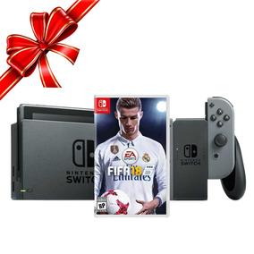 Consola Nintendo Switch + Juego Fifa 18