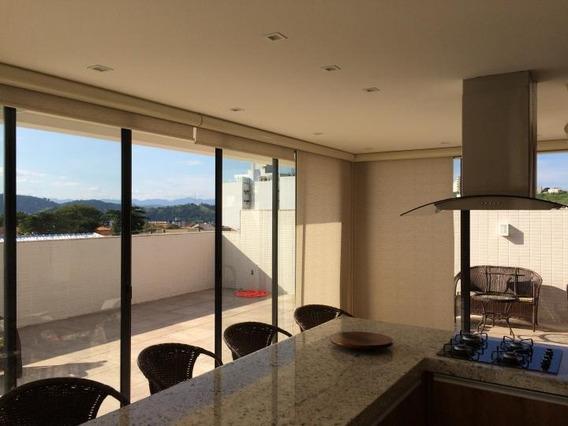 Apartamento Para Venda Em Volta Redonda, Jardim Normândia, 3 Dormitórios, 1 Suíte, 3 Banheiros, 2 Vagas - 085