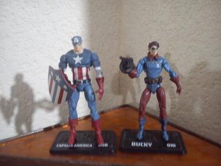 Marvel Universe Bukcy Y Capitan America El Precio Es X Los 2