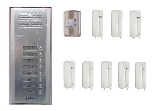 Oferta Kit Portero Electrico Completo 8 Apartamentos Siera