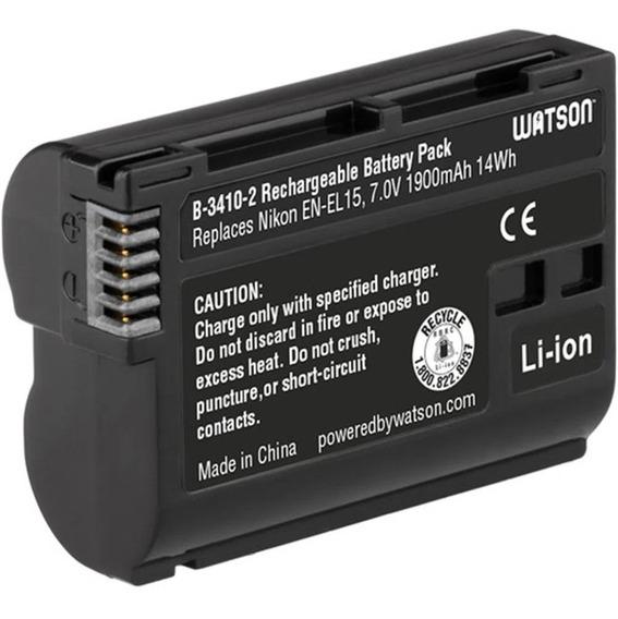 Bateria En - El15 P/ Nikon D500 D610 D750 D810 D850 D7200
