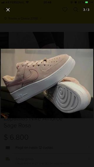 Zapatilla Nike Air Force Sage Low