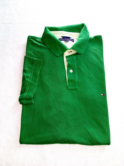 Polo Tommy Hilfiger Verde 2xl