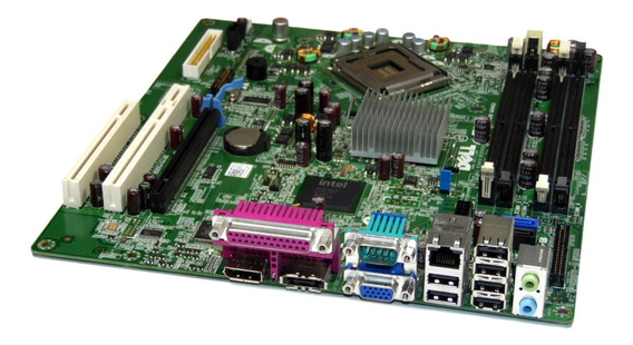 Placa Mãe Dell Optiplex 760 Dt Ddr2 Lga 775 0r230r / M859n