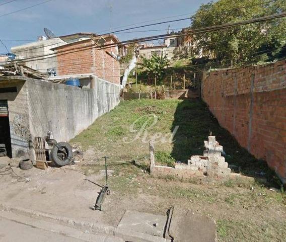 Terreno À Venda, 195 M² Por R$ 148.000 - Cidade Edson - Suzano/sp - Te0309