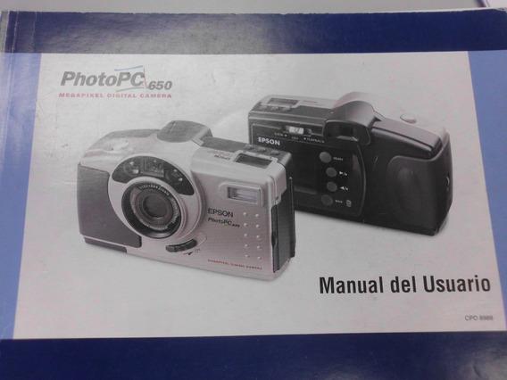 Manual Del Usuario Camara Fotografica Epson Photopc 650