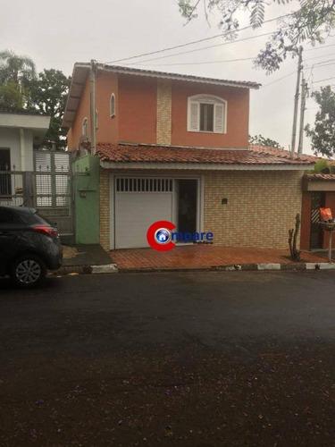 Sobrado Com 3 Dormitórios À Venda, 320 M² Por R$ 750.000,00 - Jardim Aliança - Guarulhos/sp - So1919