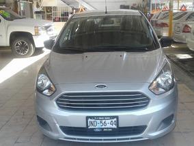 Ford Figo 2016 Gris $ 144,900.00 Seminuevo