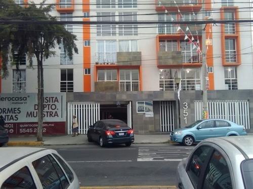 Departamento En Renta En Ampliación San Miguel, Iztapalapa.