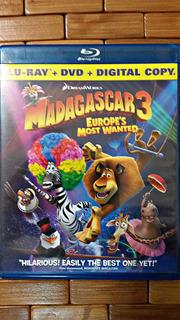 Blu-ray Madagascar 3 / Bluray + Dvd