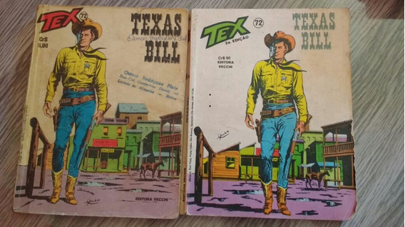 Gibi / Revista Tex N° 72 - Texas Bill