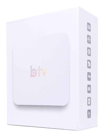 Mídia Super Branco B#t#v Lançamento Configurado