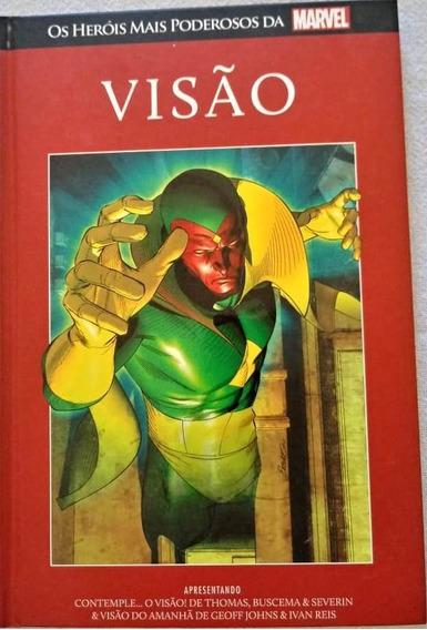 Coleção Heróis Mais Poderosos Marvel - Visão - Vol. 17