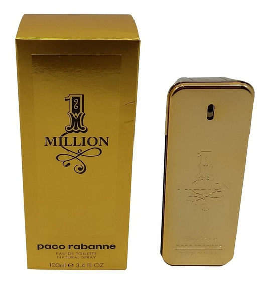 Perfume Paco Rabanne One Million 100ml - Original