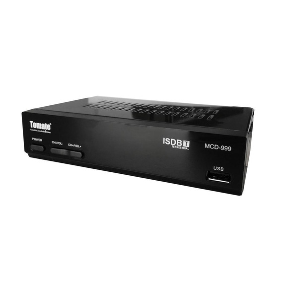 Conversor E Gravador De Tv Digital Tomate Mcd-999 Isdb-t Fhd