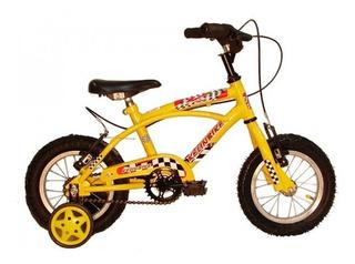 Bicicleta Nene Rodado 12 Kelinbike Playera Rojo - Racer