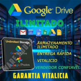 Google Drive Ilimitado Vitalicio 100% Garantido Gsuite