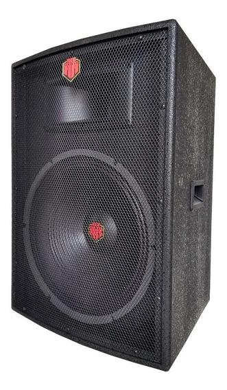 Caixa De Som Acústica Profis. Passiva 250 W. 15 Polegadas