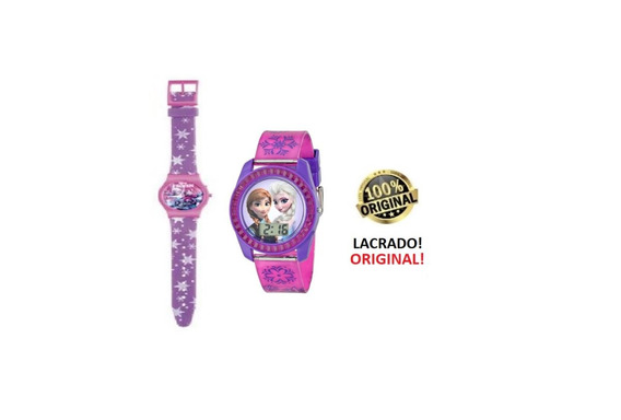 Relogio Frozen Digital Infantil Meninas Avon Original