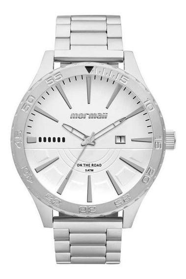 Relógio Masculino Prateado Analógico Mormaii Mo2115aw/3k