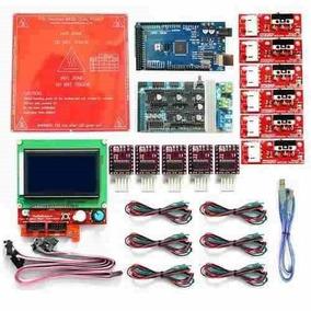 Kit Completo Eletrônica Impressora 3d Reprap 1.4 Lcd 12864