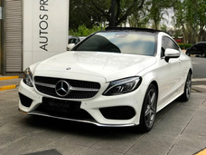 Mercedes Benz Clase C 300 Blanco Serv Of 2016 Coupe