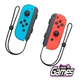 Control Neon Nintendo Switch Nueva Original