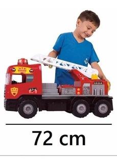 Caminhão Bombeiro Sirene Com Sons E Luzes 5056-magic Toys