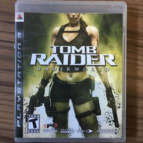 Jogo Tomb Raider Underworld - Ps3 - Seminovo Mídia Física