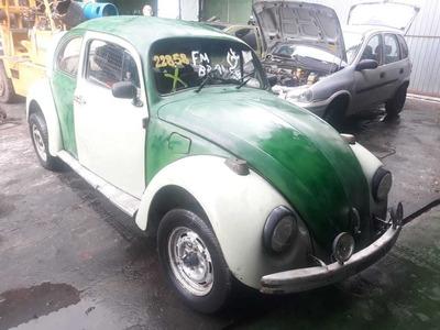 Sucata Fusca 1970 1300 Gasolina