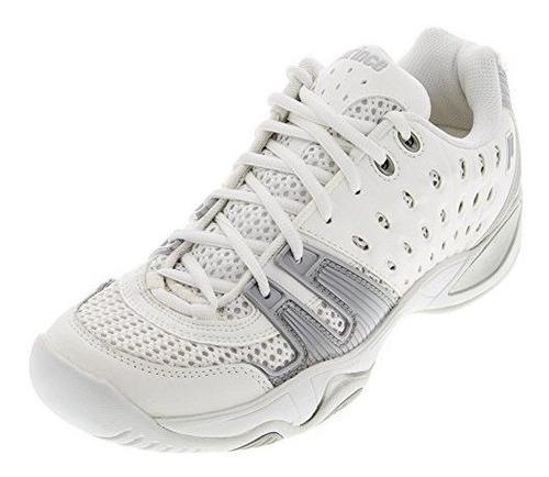 Zapatillas De Tenis T22 De Prince Junior (blanco /gris) (1.5
