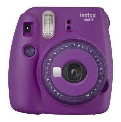 Câmera Fujifilm Instax Mini 9 Roxo Açai + 20 Filmes