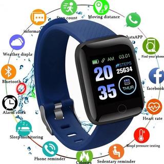 Smartwatch Pulseira Inteligente + Cor Preto +pronta Entrega