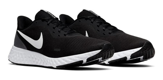 Tênis Running Nike Masculino Revolution 5 Bq3204-002 Preto