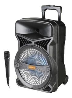 Parlante Portatil Bafle 15 Bluetooth Bateria Winco W242 +mic