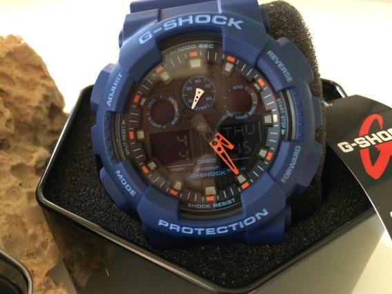 Casio G-shock Azul Ga100l-2a