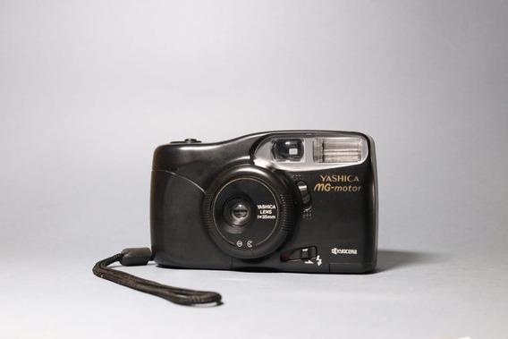 Câmera Yashica Mg-motor Iii