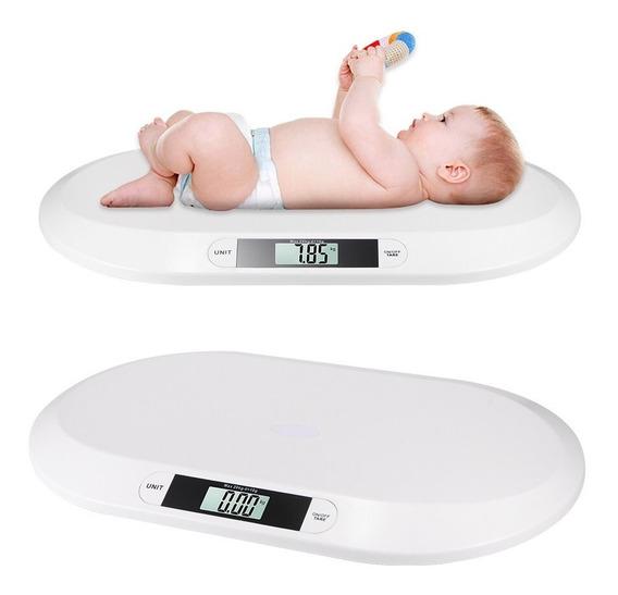 Balança Digital 20kg/10g Pediátrica Pesagem De Bebê Promoção