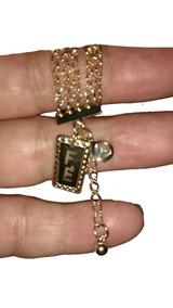 Bracelete Semi Jóia Folheada