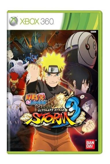Naruto Ultimate Ninja Storm 3 Full Burst - Xbox 360 - Usado