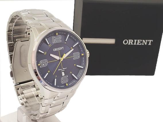 Relógio Masculino Social Orient Mbss1307 Original Nf-e Aço